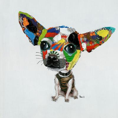 Cuadro Chihuahua 100x100