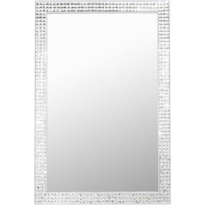 Espejo Crystals Steel blanco 120x80cm