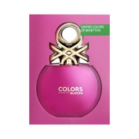 Benetton Colors Pink Blocks Collector Mujer EDT 80 ML