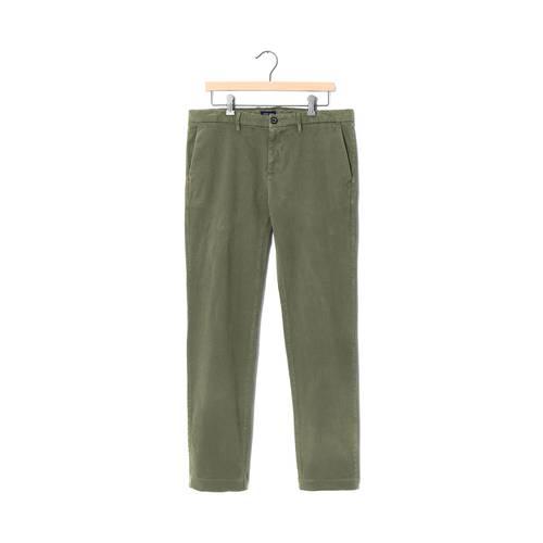 Pantalon Color Siete Para Hombre - Verde