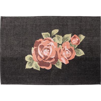 Alfombra Roses negro 240x170cm
