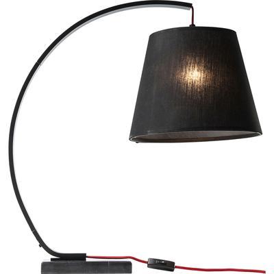 Lámpara mesa Arco negro