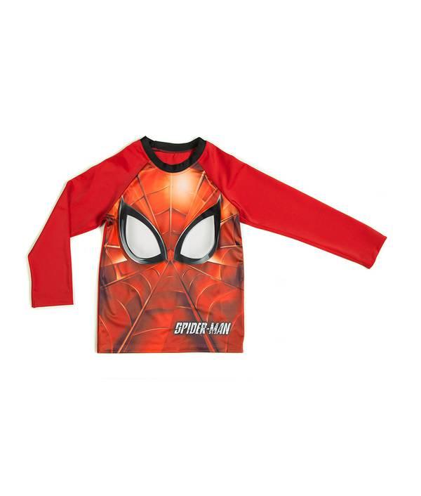 Camiseta niño baño Spiderman