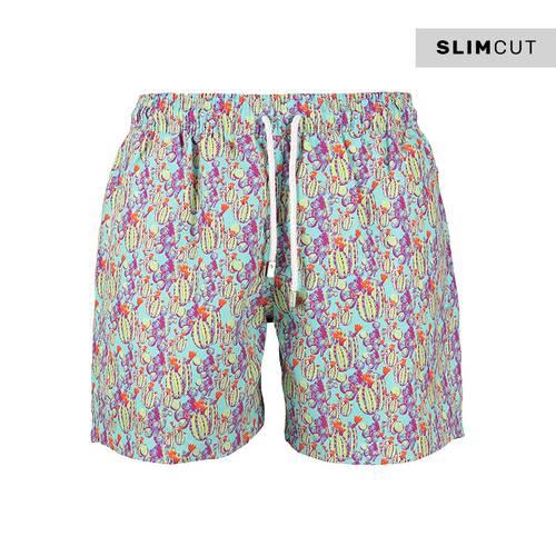 Pantaloneta Slim Cut Cactus3 -Cut - PALMACEA