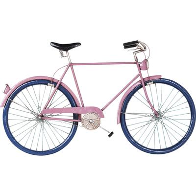 Decoración pared City Bike rosa