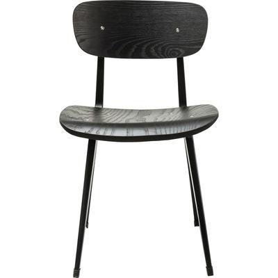 Silla Oslo negro-negro