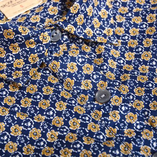 Camisa Rose Pistol para Mujer - Azul