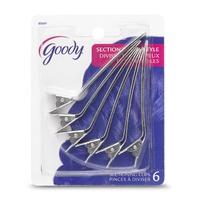 Goody 6 ganchos para dividir el cabello