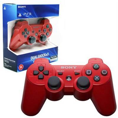 Control PS3 Inalambrico Homologado Rojo