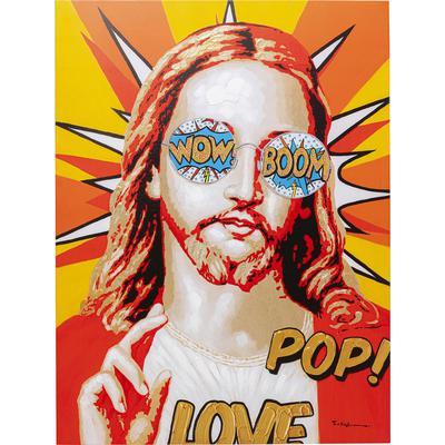Cuadro lienzo Touched Funky Jesus 120x90
