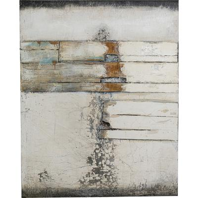 Cuadro Abstract Grey Line Two 150x120cm