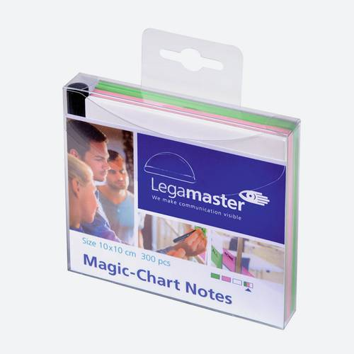 Magic-Chart Notes Assorted 10X10 Cm 300 Notes