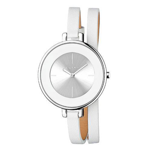 Reloj Finesse Negro/Plateado 3-L194 - ELIXA
