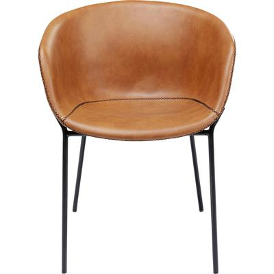 Chair with Armrest Raja Brown