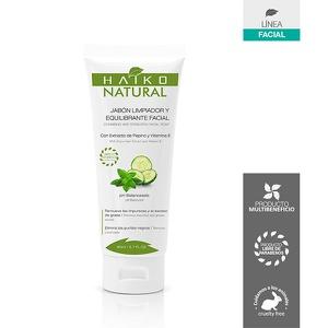 Jabón Limpiador y Equilibrante Facial en Gel Haiko Natural 80ml