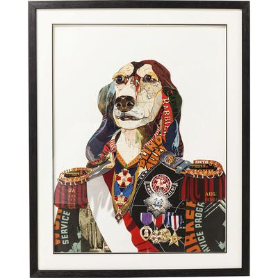 Cuadro Art General Dog 90x72cm