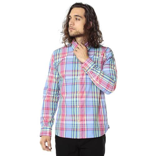 Camisa Manga Larga Victorville Rosé Pistol para Hombre - Violeta