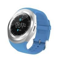 Reloj Smartwatch con Bluetooth, Camara y Sim Azul