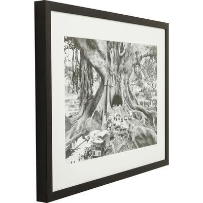 Cuadro marco Traffic Tree 84x61cm