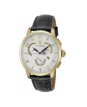 Reloj análogo blanco-negro 0230