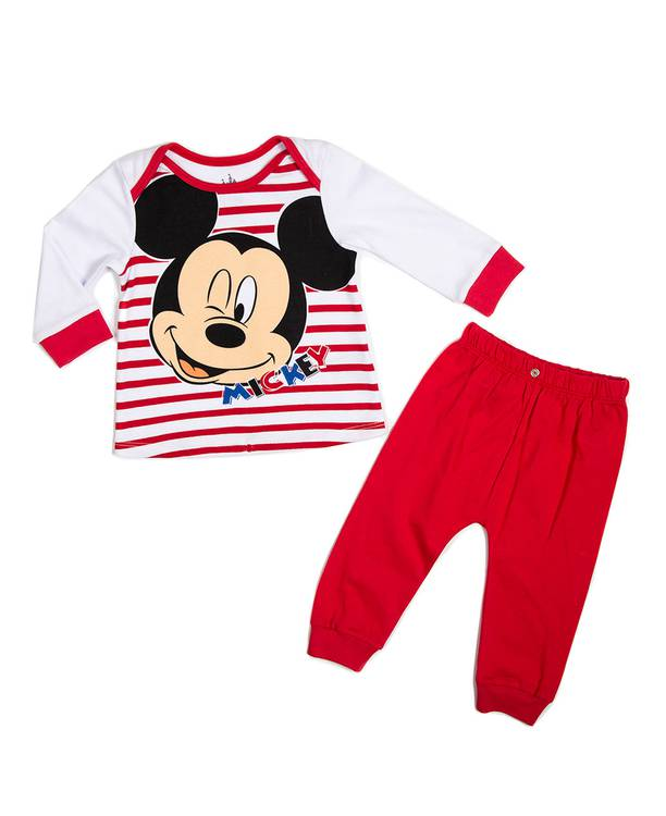 Pijama Ml/Pl Bebito Mickey