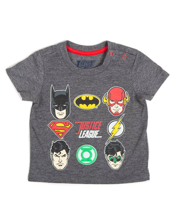 Camiseta Bebito Justice League