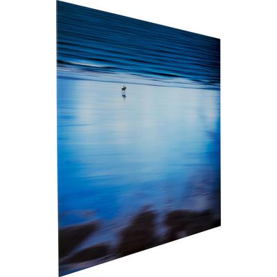 Cuadro cristal Lonely Beach 80x120cm