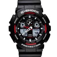 Reloj g-shock anadigi negro-negro -1A4