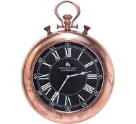 Reloj pared Pocket cobre