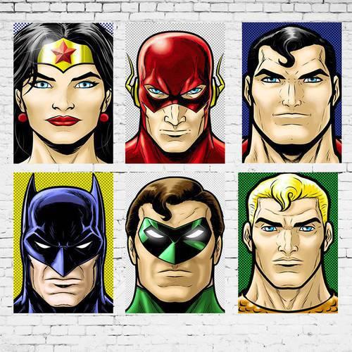 Cuadro Colección Dc Comics