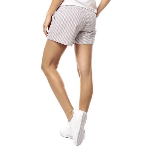 Short Color Siete Para Mujer  - Beige