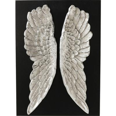 Decoración pared  Wings Silver 110x80cm