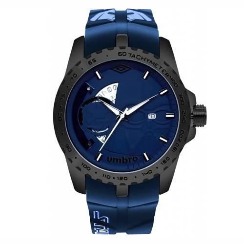Reloj Análogo Negro-Azul Umb-Sw02-2