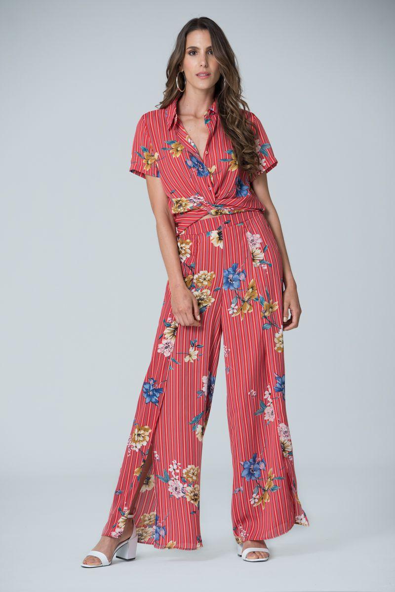 28826353d CONJUNTO BLUSA M C PANTALON - Spírito Tienda online - Moda femenina