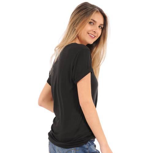 Camiseta Hailey Rosé Pistol para Mujer  - Negro