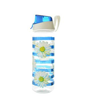 Botella Decorada Daisy Azul 0,75 Lts