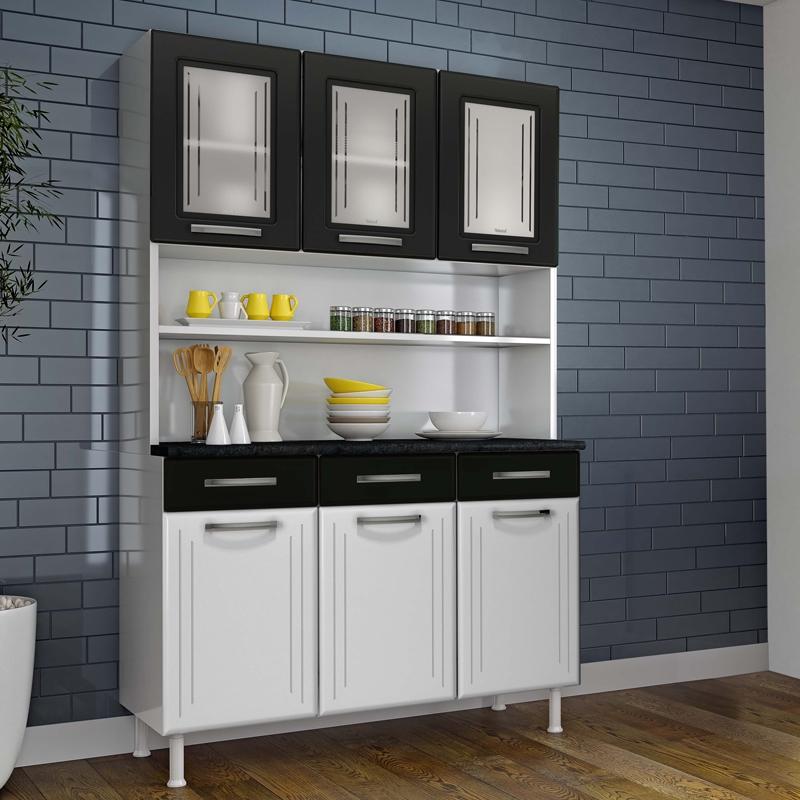 Mueble Para Cocina Kit triple, 3 cajones, 3 puertas de ...