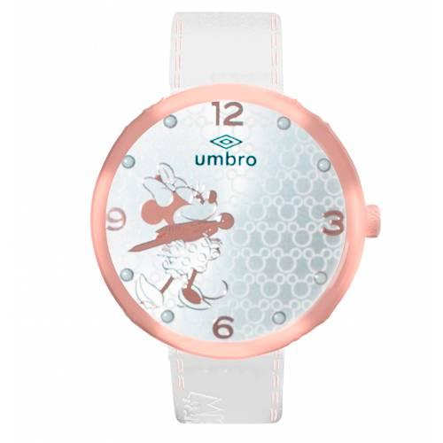 Reloj Análogo Oro rosa-Blanco Umb-Mm01-2