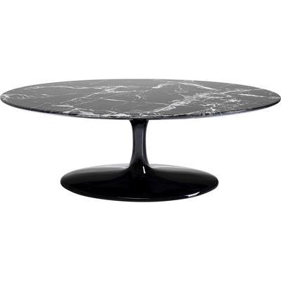 Mesa centro Solo Marble negro 120cm