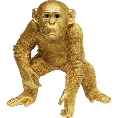 Figura deco Playing Ape oro 50