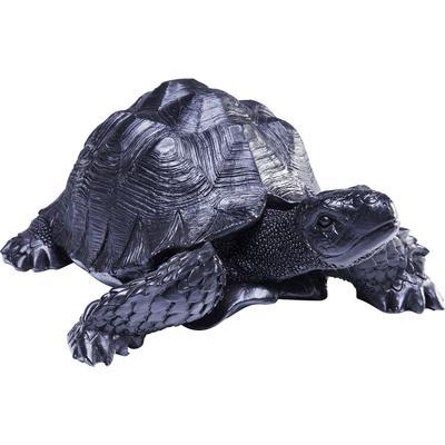 Figura decorativa Turtle negro peq.
