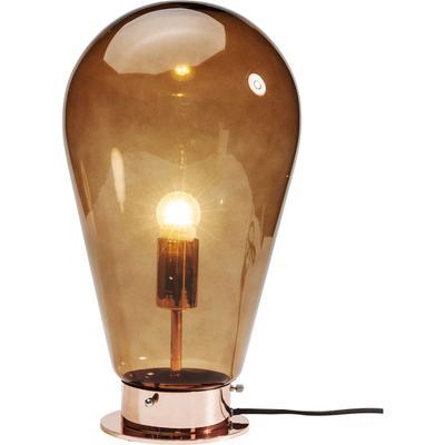 Lámpara mesa Bulb cobrizo