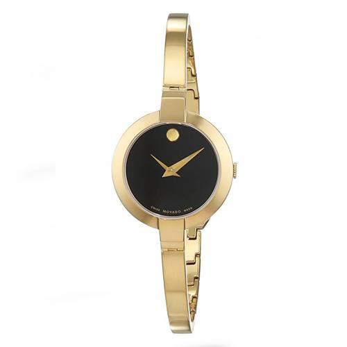 Reloj análogo negro-dorado 6999