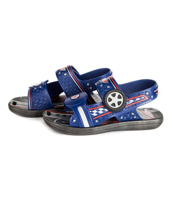 Sandalia niño Hot Wheels Azul