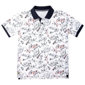 Camiseta  Polo Kid Boy Mountain