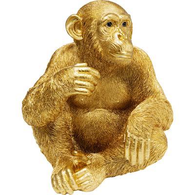 Figura deco Baby Ape oro 53