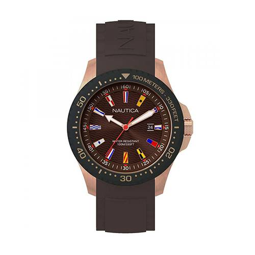 Reloj Jones Beach Marrón - Dorado