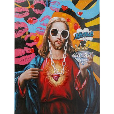 Cuadro lienzo Jesus Pop 90x120