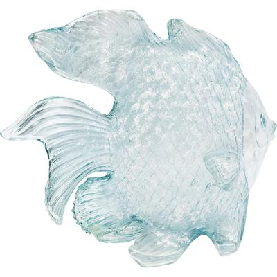 Objeto decorativo Fish Aqua