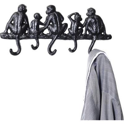 Perchero pared Monkey Family peq.